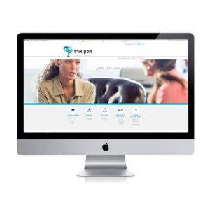 תמונה ראשית אתר מכון ארז קרנף סטודיו עיצוב גרפי עיצוב ובניית אתרים עיצוב כרטיסי ביקור עיצוב פליירים
