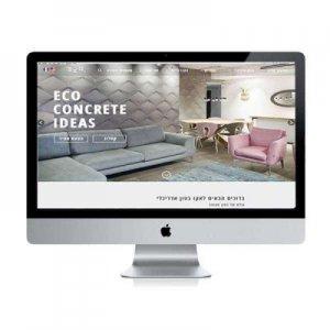 תמונה ראשית עיצוב אתר אקו קרנף סטודיו עיצוב גרפי עיצוב ובניית אתרים עיצוב כרטיסי ביקור עיצוב פליירים