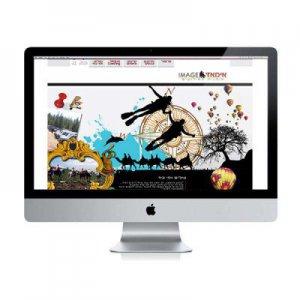 תמונה ראשית עיצוב אתר לחברת הפקה קרנף סטודיו עיצוב גרפי עיצוב ובניית אתרים עיצוב כרטיסי ביקור עיצוב פליירים