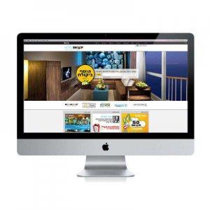 תמונה ראשית HOTELSNOOP קרנף סטודיו עיצוב גרפי עיצוב ובניית אתרים עיצוב כרטיסי ביקור עיצוב פליירים