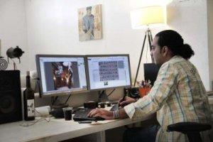 תמונת נושא למאמר קרנף מוסיקלי מתוך כתבה במגזין העיצוב DESIGN FOR DESIGNERS עיצוב גרפי עיצוב ובניית אתרים עיצוב כרטיסי ביקור עיצוב פליירים